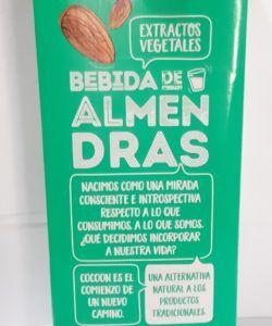 leches vegetales sin azucar