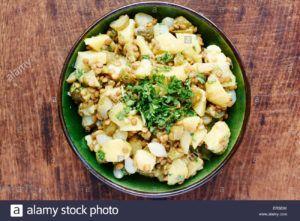 lentejas con patata