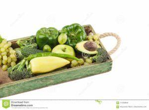 letra fruta fresca