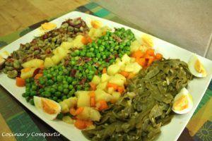 libro verduras cocidas receta