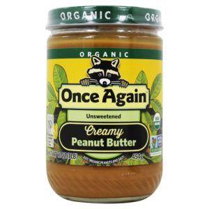 mantequilla de cacahuete natural vegana