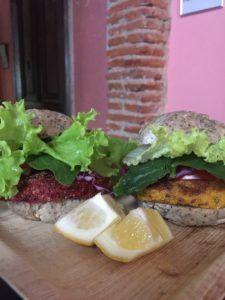 mini hamburguesas veganas