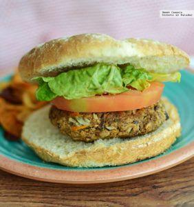 pan de hamburguesa veganas