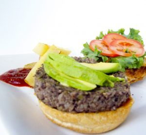 pan de hamburguesa vegano