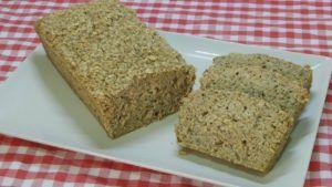 pan de platano vegano sin harina