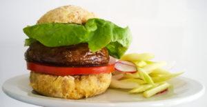 pan para hamburguesa vegano