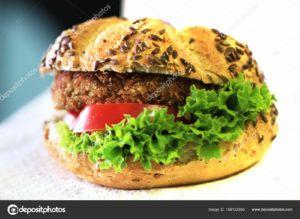 panes de hamburguesa veganas