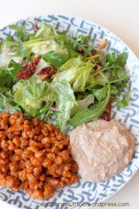 pastel carne asada quinoa y soja…