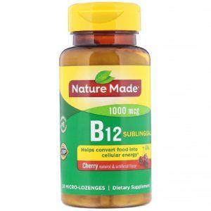 pastillas vitamina b12