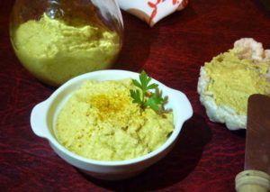 paté de olivas verdes vegano