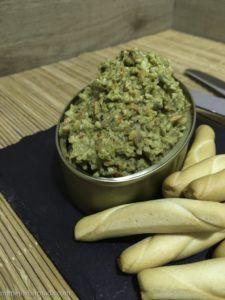 paté de pimientos de piquillo vegano