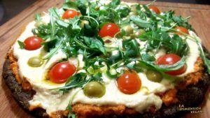 pizza vegana olivos