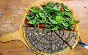 pizza vegana rosario