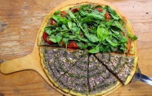 pizza vegana urquiza