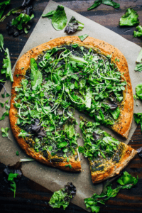 pizzas vegetarianas vegana