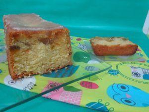 plum cake frutas