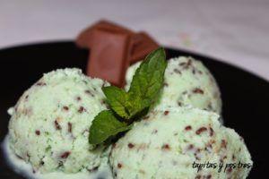 postres con helado vegano
