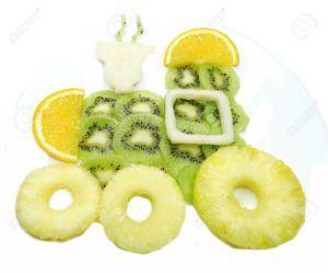 postres divertidos con frutas