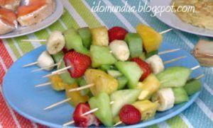 postres frutas