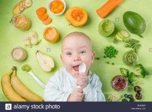 potitos para bebés caseros vegano