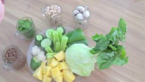 potitos pequeños vegano