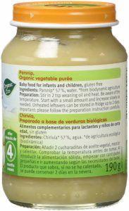 potitos verduras vegano