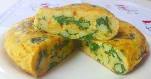 proporcion huevo patata tortilla vegano