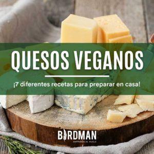 queso vegano con almendras