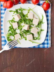 queso vegano con tofu