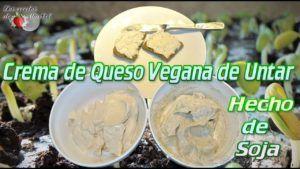 queso vegano con yogur de soja
