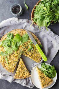 quinoa con huevo vegano