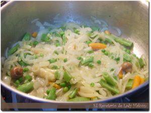 receta albondigas con verduras