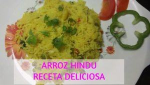 receta arroz basmati con verduras