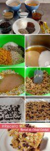 receta barritas de cereales veganos