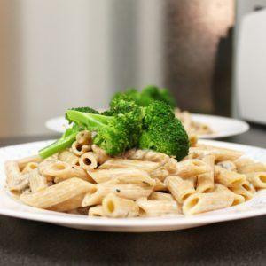receta champiñones con nata vegana
