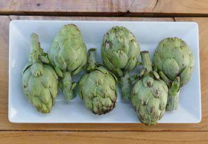receta de alcachofas en conserva vegana