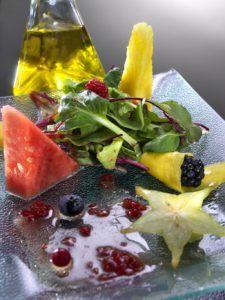 receta de frutas