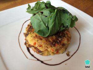 receta de hamburguesas vegetarianas veganas