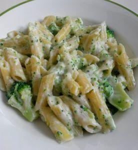 receta de macarrones con nata