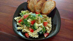 receta de pasta vegana