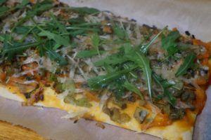 receta de pizzas veganas