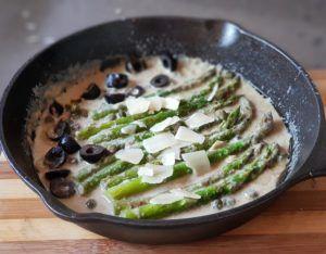 receta fideua de verduras