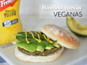 receta hamburguesa de lentejas veganas