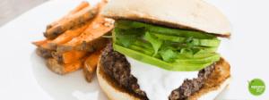 receta hamburguesa de quinoa vegana