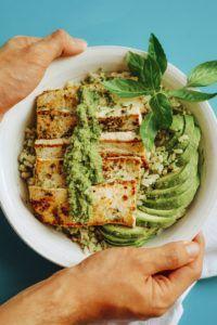 receta hamburguesa de tofu veganas