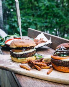 receta hamburguesa espinacas veganas