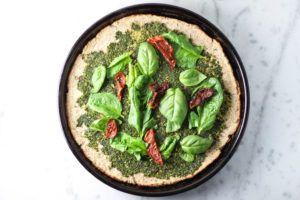 receta masa pizza sin gluten vegana