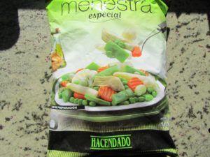 receta menestra de verduras congeladas