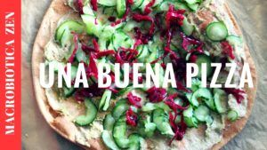 receta pizza vegana