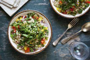 receta vegana quinoa con verduras